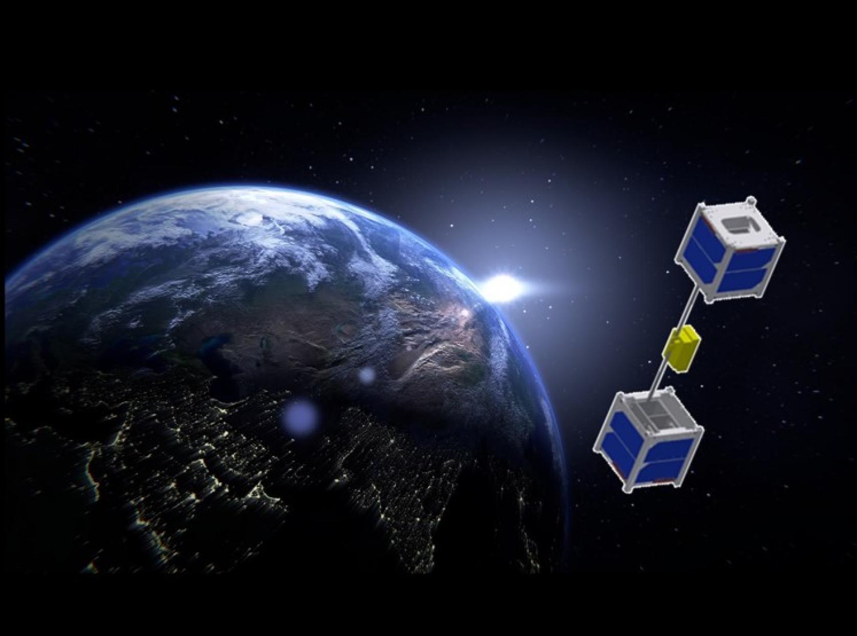 精密機械工学科の青木義男教授が、静岡大学、(株)大林組と共同開発している超小型エレベーター衛星STARS-Meプロジェクトが、静岡大学よりプレスリリースされました。