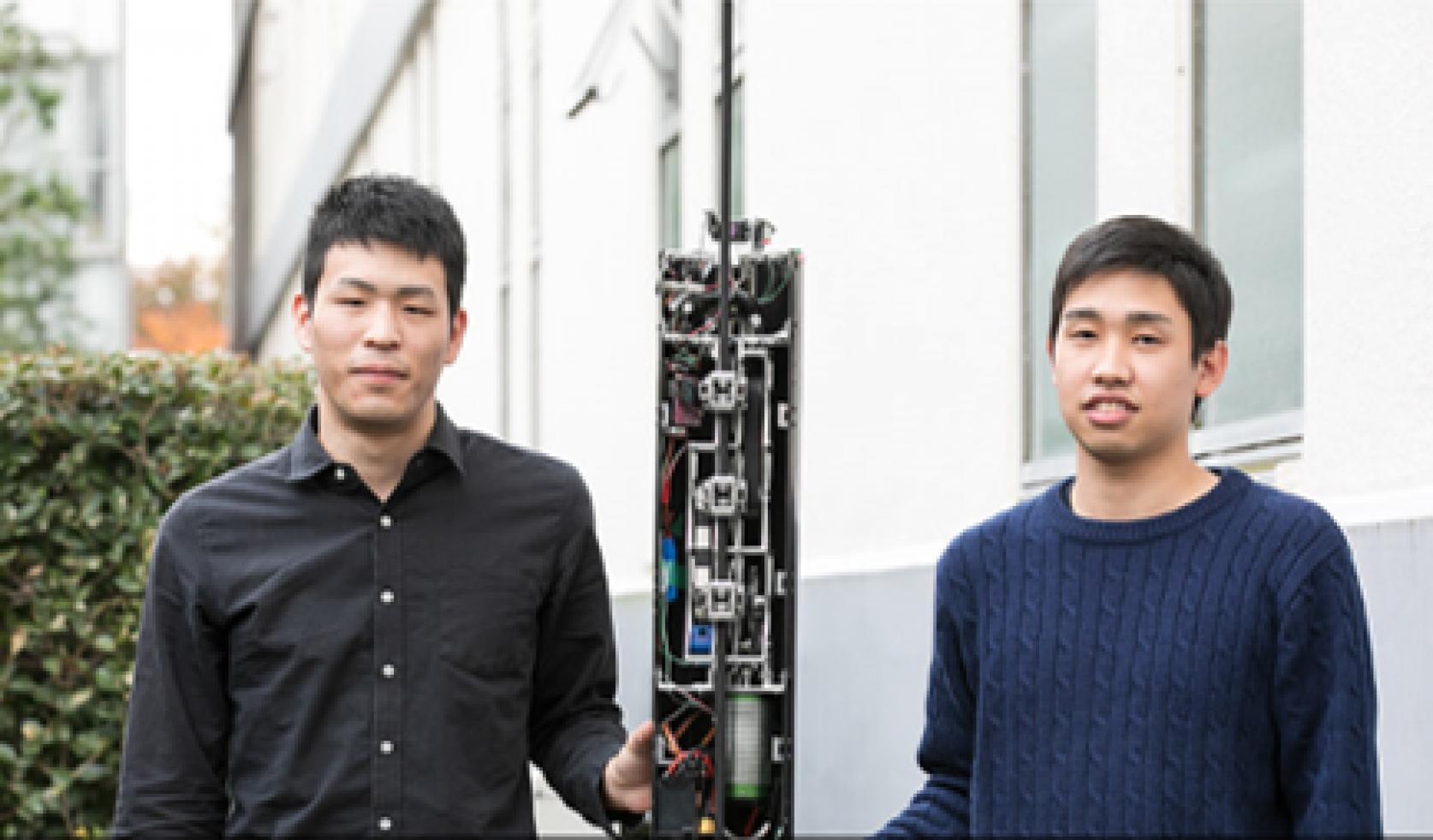 Autodesk社Redshiftに、精密機械工学科 青木義男教授と青木研究室の小池魁舟さん(4年)荒川直輝さん(4年)の宇宙エレベータープロジェクトの記事が掲載されました。