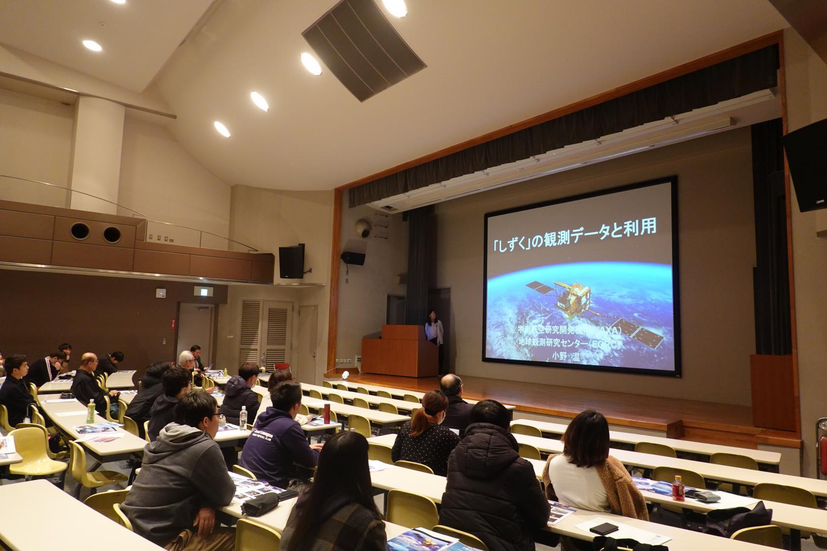 【開催報告】海洋建築工学科 第1回海洋建築セミナー「宇宙と深海から眺めた海」