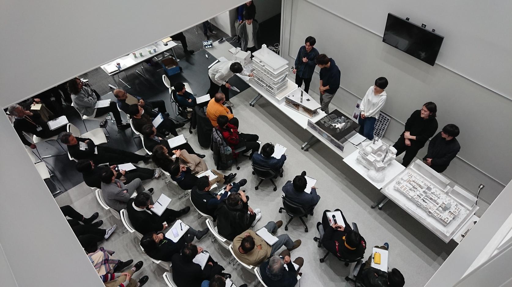 建築学科 2019年度桜建賞(設計)審査会が開催されました。