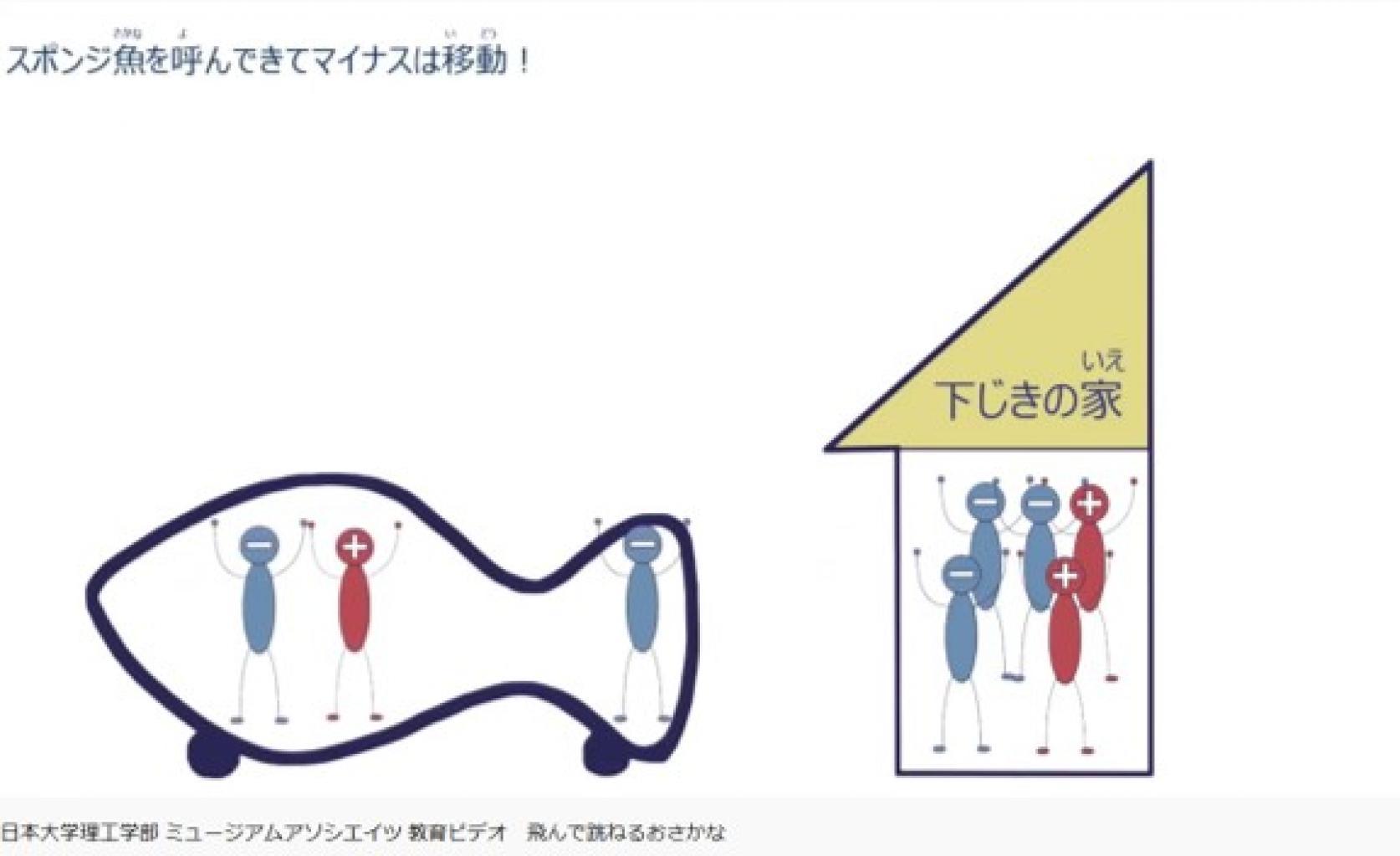 学校がお休み中の皆さんへ<自宅で自由研究 Let's Try!⑥>実験:日本大学理工学部ミュージアムアソシエイツ(MA)の「飛んで跳ねるおさかな」