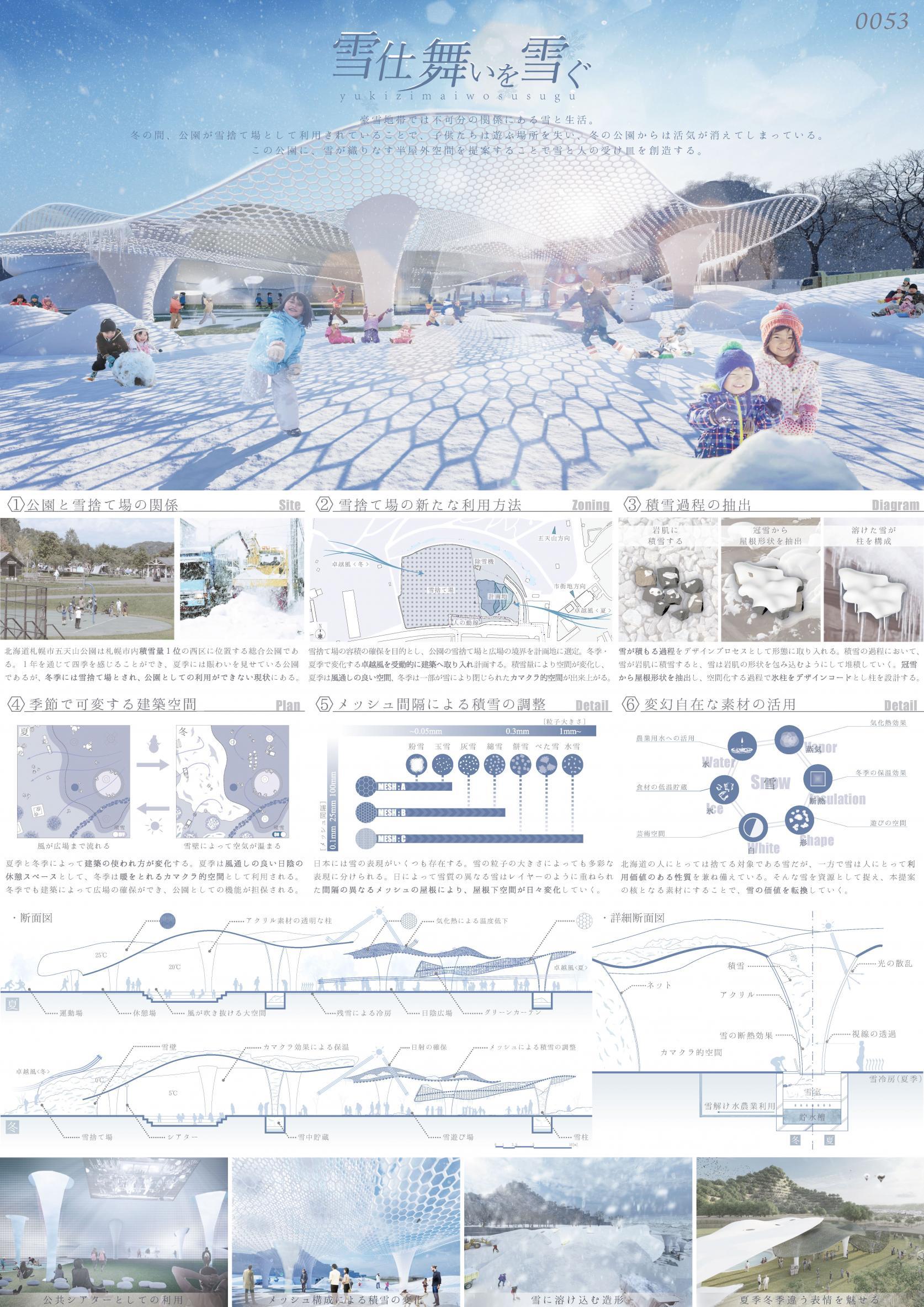 海洋建築工学科の学生グループが、JIA日本建築家協会主催の「テクスチャレンジ設計コンペ」において、審査員賞(山脇賞)を受賞しました。