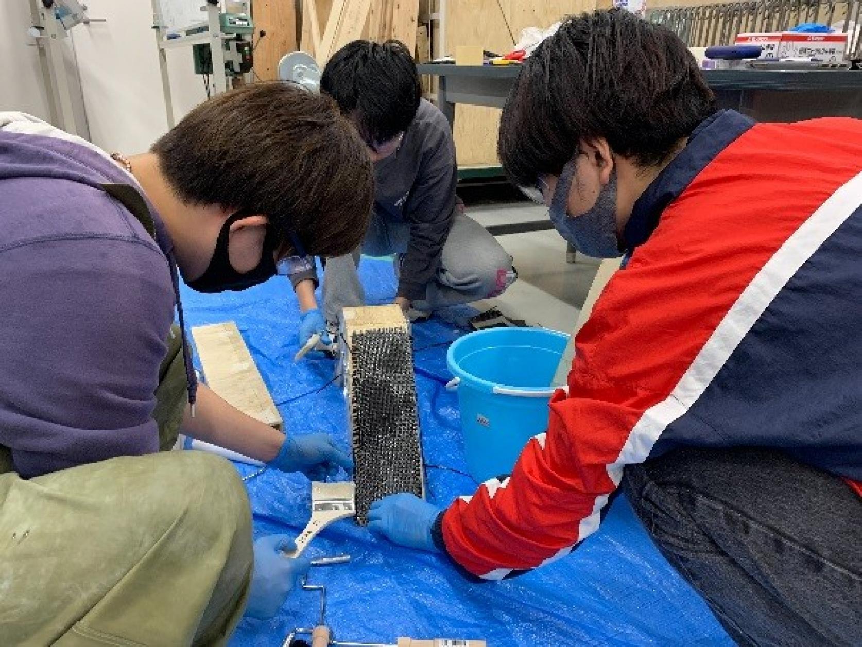 日本大学理工学部学生チームが、IHI/SAMPE JAPAN学生ブリッジコンテストでIHI杯及び審査委員特別賞をダブル受賞しました。