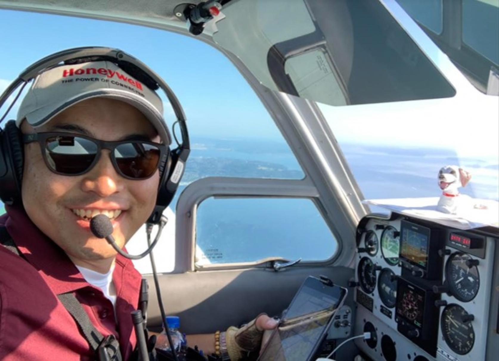 Aero Zypangu Project航空宇宙工学科OB隻眼のパイロット前田伸二さん、単独世界一周飛行「EARTHROUNDER MISSION」いよいよ5月1日Take Off!